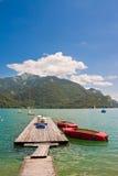 Piękny halny jezioro Zdjęcia Stock