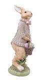 Piękny handmade Easter królik Zdjęcie Royalty Free