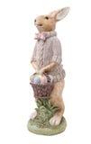 Piękny handmade Easter królik Zdjęcia Royalty Free