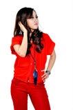 Piękny indonezyjczyka model Obraz Royalty Free