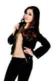 Piękny indonezyjczyka model Obrazy Royalty Free