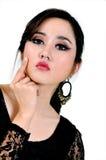 Piękny indonezyjczyka model Obrazy Stock