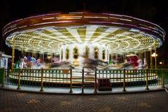 piękny jaskrawy carousel obraz royalty free