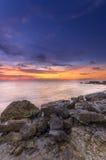 Piękny jaskrawy seascape Fotografia Stock