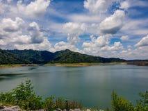 Piękny jeziorny scenary Zdjęcie Stock