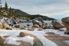 Piękny Jeziorny Tahoe Kalifornia Zdjęcie Stock