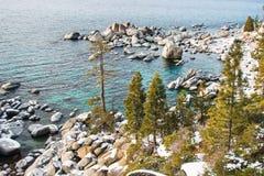 Piękny Jeziorny Tahoe Kalifornia Obraz Stock