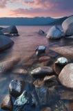 Piękny Jeziorny Tahoe Kalifornia Zdjęcia Royalty Free