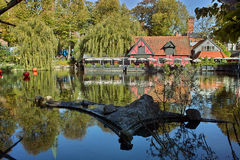 piękny jeziorny tivoli Zdjęcia Royalty Free