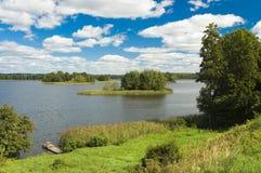 Piękny jezioro Obraz Stock