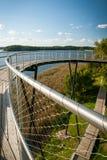 Piękny jezioro w letnim dniu Zdjęcia Stock