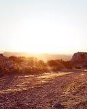 Piękny Jogging sen krajobraz 2 Obrazy Royalty Free