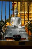 Piękny kamienny Buddha Obrazy Royalty Free