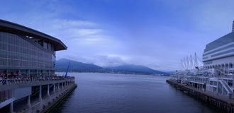 Piękny Kanada miejsce Vancouver BC Kanada Obraz Royalty Free