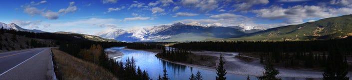 Piękny kanadyjczyka krajobraz, Alberta, Kanada Fotografia Royalty Free