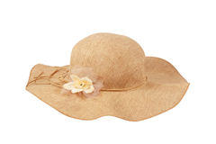 piękny kapeluszowy lato Obrazy Royalty Free