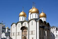 piękny katedralny Kremlin Moscow Zdjęcie Stock