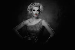 Piękny kobieta portret Zdjęcia Stock