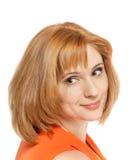 Piękny kobieta portret Zdjęcie Royalty Free
