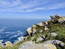 Pi?kny krajobraz Atlantycki ocean obraz royalty free