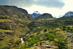 Piękny krajobraz El Chalten Zdjęcie Stock