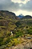 Piękny krajobraz El Chalten Obrazy Stock