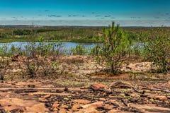 Piękny krajobraz natura Obrazy Royalty Free