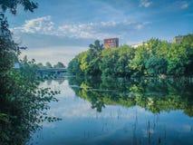 Piękny krajobraz od Yambol Zdjęcia Stock