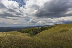 Piękny krajobraz osobliwie dla Granu Sabana, Venezue - Zdjęcia Stock