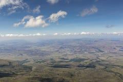 Piękny krajobraz osobliwie dla Granu Sabana, Venezue - Fotografia Royalty Free