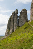 Piękny krajobraz w Ciucas górze, Rumunia Zdjęcie Royalty Free