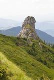 Piękny krajobraz w Ciucas górze, Rumunia Obrazy Royalty Free