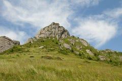 Piękny krajobraz w Ciucas górze, Rumunia Fotografia Stock