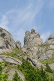 Piękny krajobraz w Ciucas górze, Rumunia Zdjęcie Stock