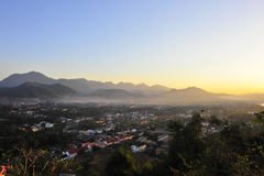 Piękny krajobraz w Luang Prabang Zdjęcie Royalty Free