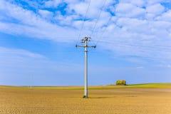 Piękny krajobraz z akrem Fotografia Stock