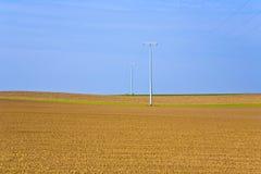 Piękny krajobraz z akrem Obraz Royalty Free