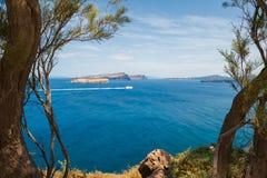 Piękny krajobraz z dennym widokiem Zdjęcie Royalty Free