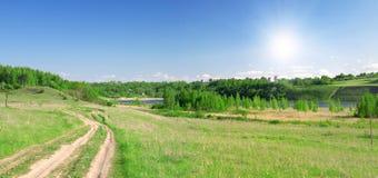 piękny krajobrazowy lato Obraz Stock