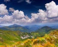 piękny krajobrazowy lato Zdjęcia Stock