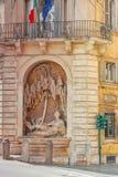Piękny krajobrazowy miastowy i dziejowy widok Rzym, urb Zdjęcia Stock