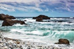 piękny krajobrazowy morze Fotografia Royalty Free