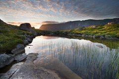 piękny krajobrazowy Norway Obraz Royalty Free