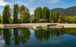 Piękny krajobrazowy Patagonia Argentyna Obrazy Stock