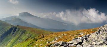 piękny krajobrazowy ranek Obrazy Royalty Free