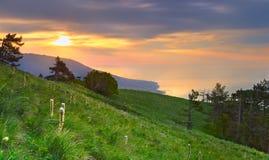 piękny krajobrazowy ranek Obrazy Stock