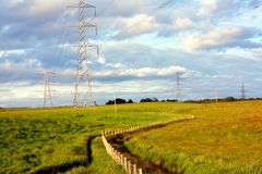 piękny krajobrazowy scottish Zdjęcie Stock