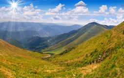piękny krajobrazowy suumer Fotografia Royalty Free