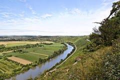 piękny krajobrazowy winnica Zdjęcia Stock