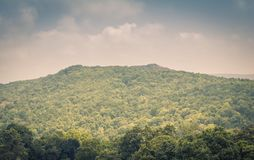 Piękny krajobrazu pasmo górskie Zdjęcia Stock